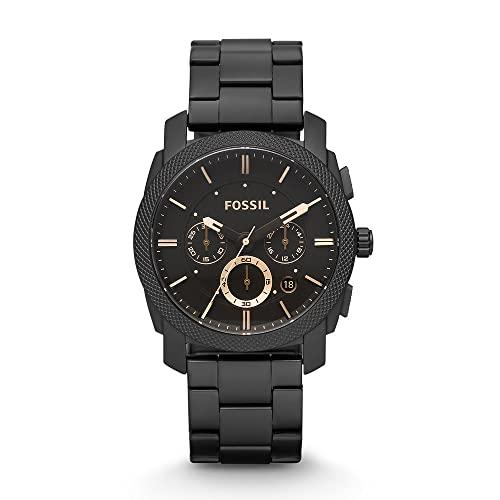 Fossil Men's Machine Quartz Stainless Steel Chronograph Watch