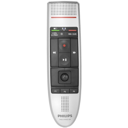 Philips LFH-3000 SpeechMike Air Wireless Dictation Microphone with Push Button Design Photo #3