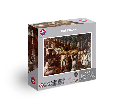 Quebra-cabeça, Portinari, 2000 peças, Estrela - Exclusivo Amazon