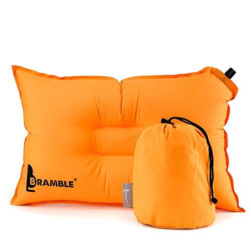 BRAMBLE! Almohada Auto Inflable de un Material Suave, Fiesta, Camping,...