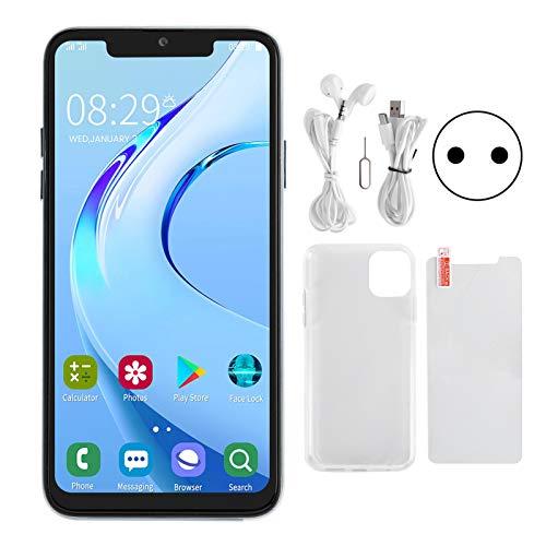 SALUTUYA 6,5 Pouces Téléphone Portable Android Débloqué, Téléphone Intelligent Double Carte Double Veille 1 + 16G Téléphone Portable, Extension de Carte Mémoire de Soutien(01)
