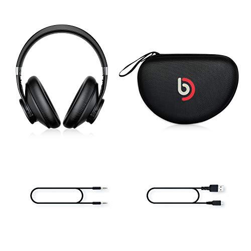 Auriculares Bluetooth 5.0 Diadema Bomaker, con Cancelación Activa de Ruido, Cascos Bluetooth Inalámbricos, Hi-Fi Sonido Estéreo, Micrófono Incorporado, CVC 8.0, con Estuche, para PC/Móvil/TV, Negro