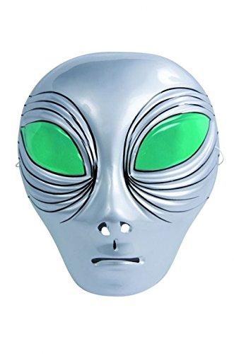 Masque alien plastique
