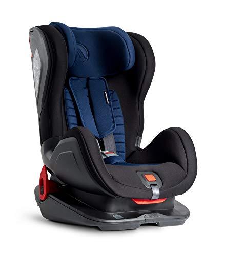 Silla de seguridad para niños Avionaut Glider Comfy | silla de coche grupo 1/2 (9kg-25kg, 60cm-125cm) | para niños de 9 meses a 7 años | Marino/Negro