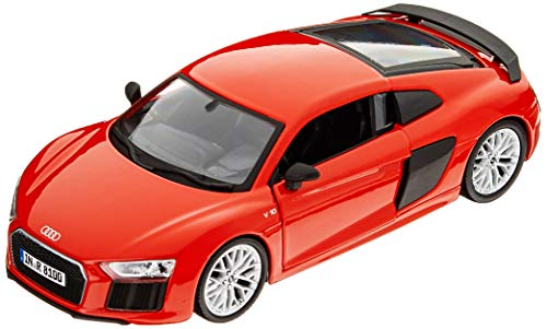 Maisto, Color Rojo, Audi R8 V10 Plus 1/24 (31513R