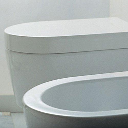 Flaminia 5051CW02 Sedile Avvolgente per WC, Link, in Termoindurente, Bianco
