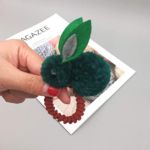 Moiraurs Haarspange aus Filz, dreidimensional, Hasenohren, Hasenohren, Haarschmuck 1 GR1