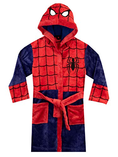 Marvel Jungen Spiderman Bademäntel Rot 134