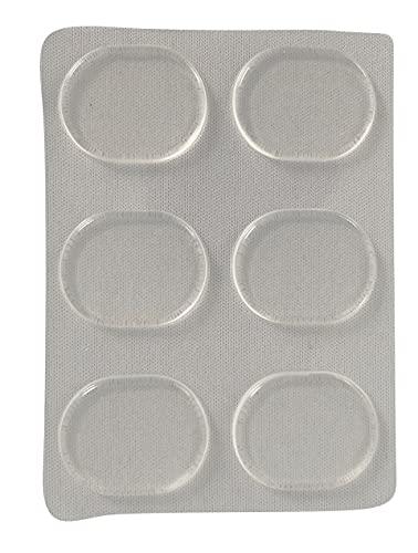 Schuh Gel Druckstellen Pads 6 Stück, gegen Reibung, Blasenbildung und Hautirritation