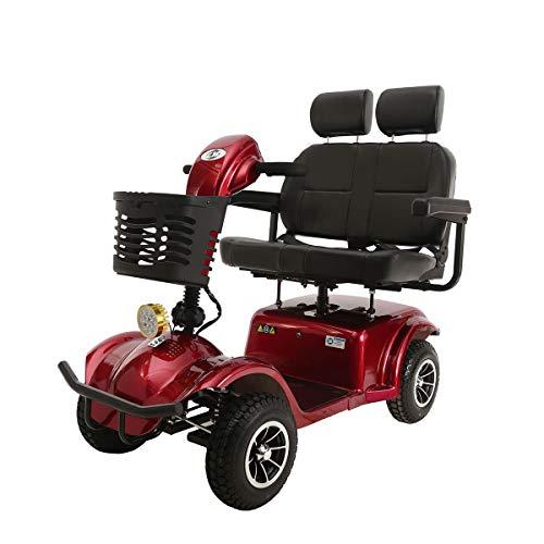 QXue Doppelsitz elektrorollstuhl elektromobile elektromobile für senioren Elektromobil