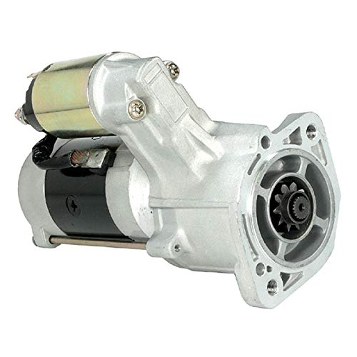 DB Electrical SMT0049 Starter Compatible With/Replacement For Dodge Ram 50 Pickup Truck 2.3L Diesel 1983 / Mitsubishi Mighty Max Pickup 1983 2.3L / M2T56181 M2T56182 M2T56185 / MD061154