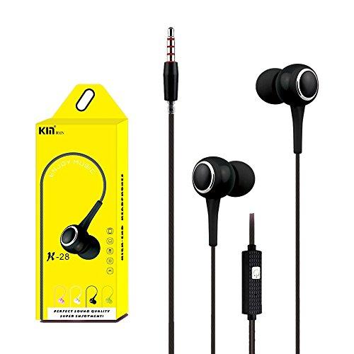 OHQ Auriculares EstéReo Intrauditivos De 3,5 Mm para Auriculares Universales MicróFono para TeléFono Celular Auricular Bluetooth Cargador Linea De Datos