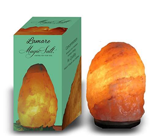 Lampada di sale dell Himalaya 4-6kg - Magic Salt Lighting for Your Soul