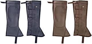 Derby Originals Synthetic Leather Half Chaps with Velcro