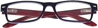 El Charro Occhiali da Lettura Modello Kansas Blu/Rosso, Diottria +3-1 Prodotto