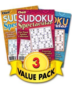 Sudoku Spectacular Volumes - 3 Pack