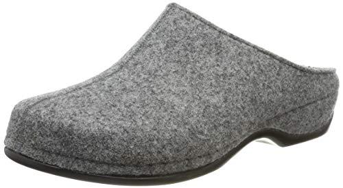 Berkemann Damen Florina Pantoffeln, Grau (Hellgrau 652), 42 EU