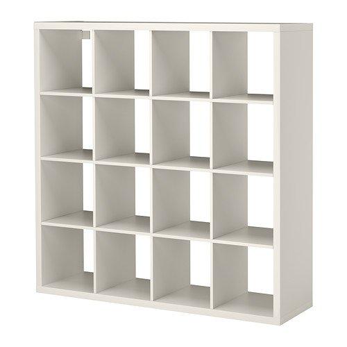 Ikea Estantería de Almacenamiento, Color Blanco, 147x 147cm