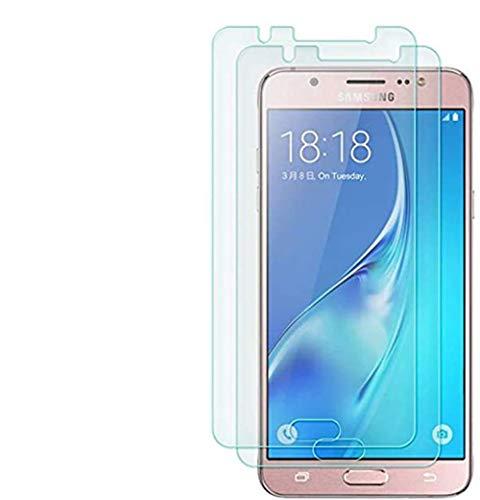 Vada-Tec 3X Bruchsicheres Panzerglas für Samsung Galaxy J5 2017 Panzerglasfolie Schutzfolie aus 9H Echt Glas Transparent