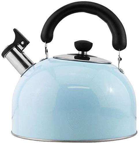 Bouilloire induction Cuisinière électromagnétique bouilloire 304 en acier inoxydable gaz de gaz sifflet domestique grand capacité bouilloire bouilloire bouilloire universelle WHLONG
