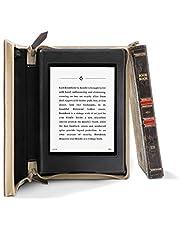 Twelve South 12-2001 Etui w Formie Książki do Kindle Paperwhite 4 ze Skóry Licowej, Naturalne