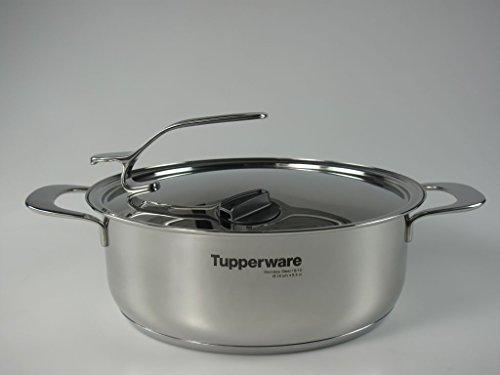 TUPPERWARE Chef Serie Gourmet-Linie Cacerola 3,8 L incl. Tapa de Metal