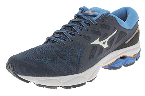 Mizuno Wave Ultima 11 Shoes Herren Mazarine Blue/White/Brilliant Blue Schuhgröße UK 9,5 | EU 44 2019 Laufsport Schuhe