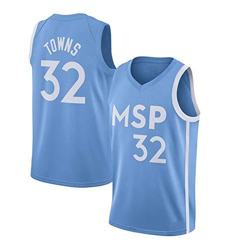 # 32 Städte Timberwolves Basketball Trikot Jugend Outdoor Sport Trainingsanzug Team Uniformen Mode T-Shirt Boy Activewear-S