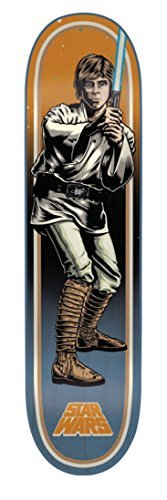 Santa Cruz Skateboards Star Wars Luke Skywalker Skateboard 7.8 x 31.7 by Santa Cruz