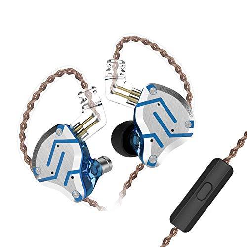 Yinyoo KZ ZS10 Pro HiFi Earbuds IEM Headphones 4BA 1DD Hybrid Drivers, Wired Ear Monitors KZ Audio Headsets High Fidelity In Ear Earphones for Musician