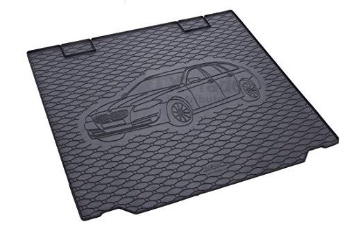 Rigum Passende Kofferraumwanne geeignet für BMW 5 Touring ab 2010-2014 + Gurtschoner