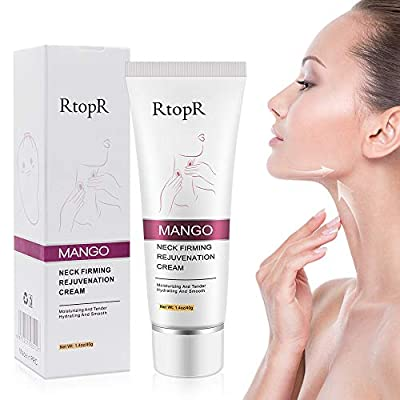 Neck Firming Cream,Anti-Wrinkle Neck Cream,Neck Moisturizer Cream Anti Aging Cream for Double Chin and Sagging Skin (20ml) from Nuobk