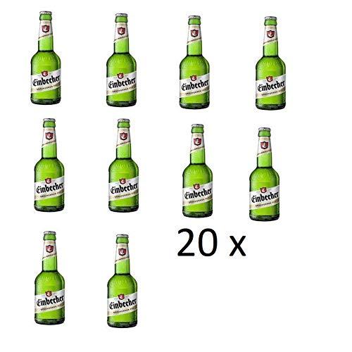 20 Flaschen a 0,33L Einbecker Brauherren Pils 4,9% Bier Ur Bock inc. 1.60€ MEHRWEG Pfand