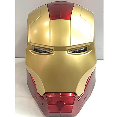 PRETAY Iron Man Cascos de Halloween Cosplay Película Deluxe Edition Marvel Avengers...