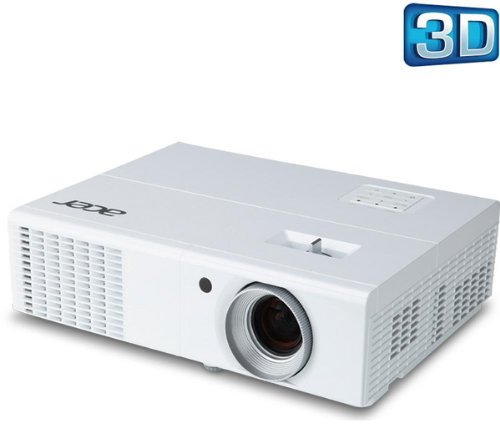 Acer H5370BD 720P 3D Resolution Projector. 2500 Ansi Lumens, ECO Mode, CBII+, Auto Keystone, Blu ray 3D, (Nvidia 3D & DLP 3D) HDMI 1.4. Carry Case Included. (Discontinued by Manufacturer)
