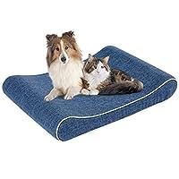 犬ベッド ペットベッド 高反発 クッション 犬 猫 マット 足腰 関節にやさしい 老犬に 子犬 暖かい 冬 丁度いい厚さ洗える 滑り止め 小中型犬/猫用(70*50*10cm)