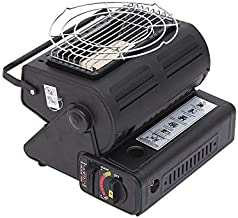 Rawisu Calentador de Gas 2 en 1 Calentador de Gas butano para Exterior Calentador de Gas Externo Calentador de butano para habitación con asa Estufa de Camping Calentador de Tienda para Tiendas
