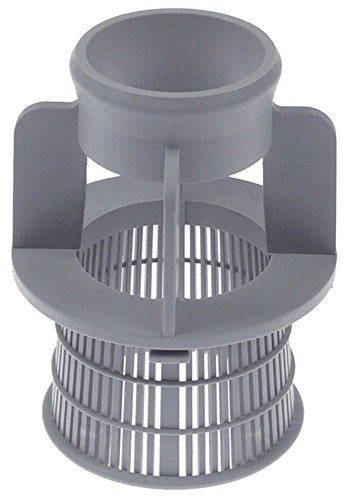 Sammic Filtro de aspiración para lavavajillas SL-350B, SL-550B, SL-290B, SL-550BP, diámetro de 101 mm, altura de 130 mm