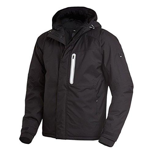 FHB 78658-20-M Winter-Softshell-Jacke Mika Größe M in schwarz, M