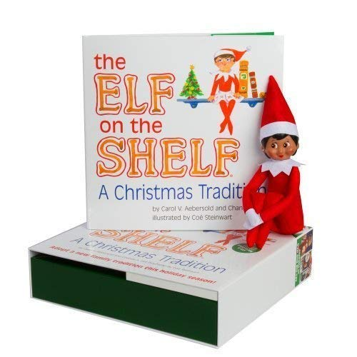 Elf on The Shelf(R) (Girl - Dark)