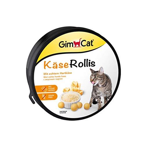 I morsi di GimCat non sono solo irresistibilmente buoni, ma anche stimolano l'attività del gatto e migliorano la sua voglia di giocare - la perfetta combinazione di divertimento e divertimento Gli spuntini GimCat sono la scelta sana e naturale per in...