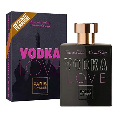 Vodka Love Agua de perfume para mujeres Eau de toilette Paris Elysees Vaporizador 100 ml Afrutado