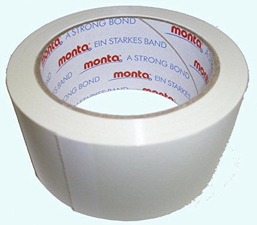 PVC Klebeband Monta 250 leise abrollend weiß 50 mm x 66 m 6 Rollen