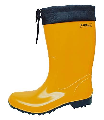 Bockstiegel Sara - Stivali da pioggia da donna, taglia 39, colore: giallo