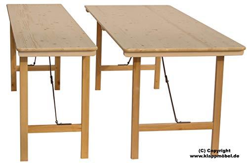 Lönne Holzklapptisch, 200 x 50 x 78 cm