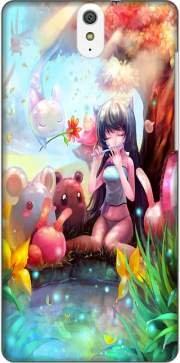 Mobilinnov Coque Sony Xperia C5 Ultra Dual Rigide Motif Charmeuse Manga de Protection et Personnalisation