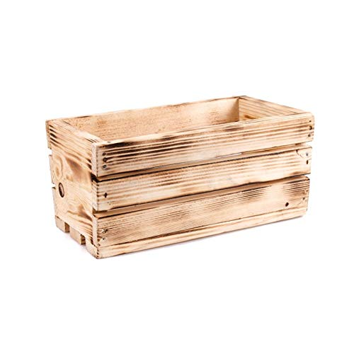 Tintours Boîte en bois pour herbes et fleurs pour le jardin - 32 x 18,5 x 15 cm