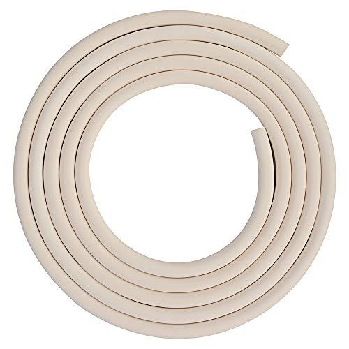 stonylab Tubo de Goma de Vacío, Tubo de Vacío en 12mm OD y 8mm ID Tubo de Caucho Natural para Vacío, 8 x 12 mm Vacuum Rubber Tubing Ajuste en el Material de Cristalería StonyLab - 3 Metros