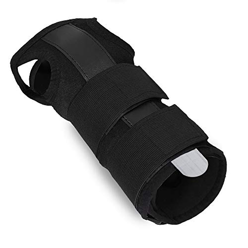 AGIA TEX Medizinische Handgelenkschiene Handgelenk-Bandage Stütze mit entnehmbarer Alu-Schiene bei Karpaltunnelsyndrom Arthritis Zerrung rechts & links verwendbar atmungsaktiv für Damen und Herren XXL