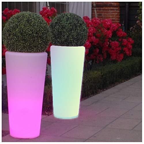 Maceteros con Luz, Led, Multicolor Recargable Portátil 92 c